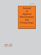 Cover Journal of Applied Meteorology and Climatology
