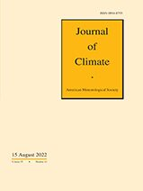 Cover Journal of Climate