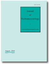 Cover Journal of Hydrometeorology