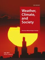 Cover Weather, Climate, and Society