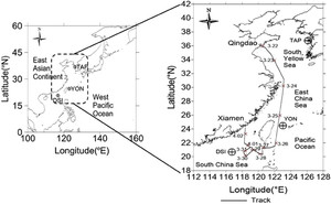 Carbon Dioxide and Methane in the China Sea Shelf Boundary Layer ...