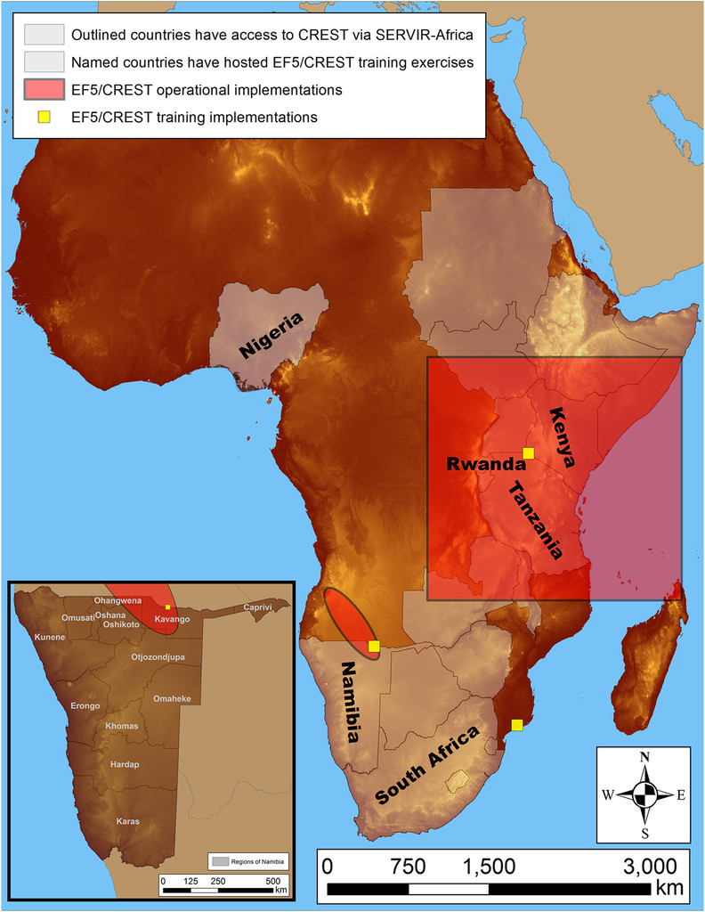 Hydrological Modeling And Capacity Building In The Republic Of Namibia In:  Bulletin Of The American Meteorological Society Volume 98 Issue 8 (2017)