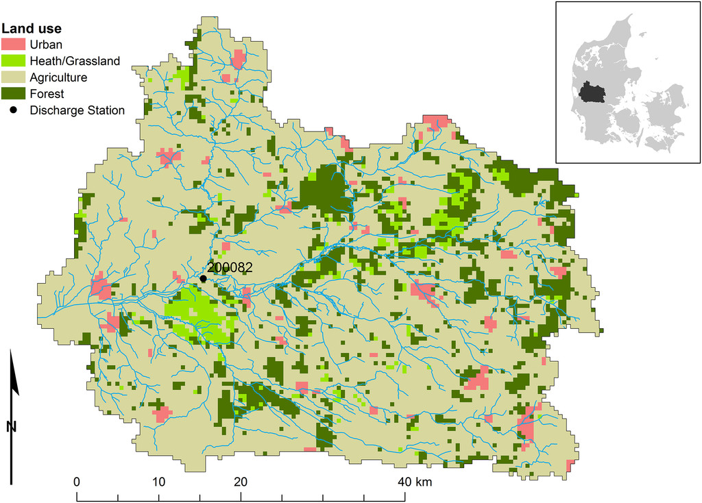 Spatial Sensitivity Analysis of Simulated Land Surface Patterns in ...