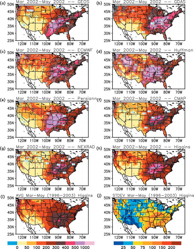 Analysis of Multiple Precipitation Products and Preliminary ...