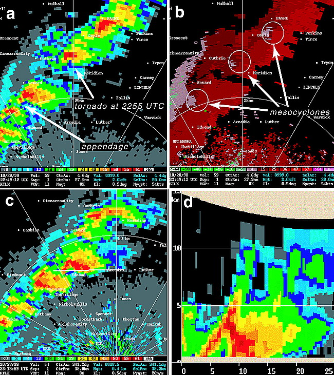 Some Observations of Rotating Updrafts in a Low-Buoyancy, Highly ...