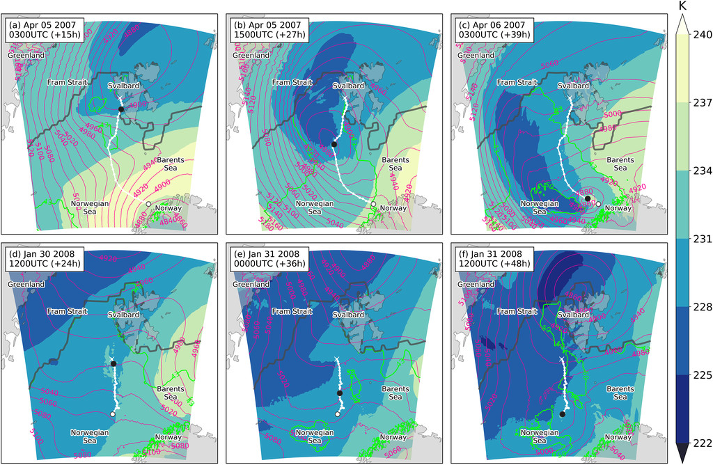 Modification of Polar Low Development by Orography and Sea Ice in ...