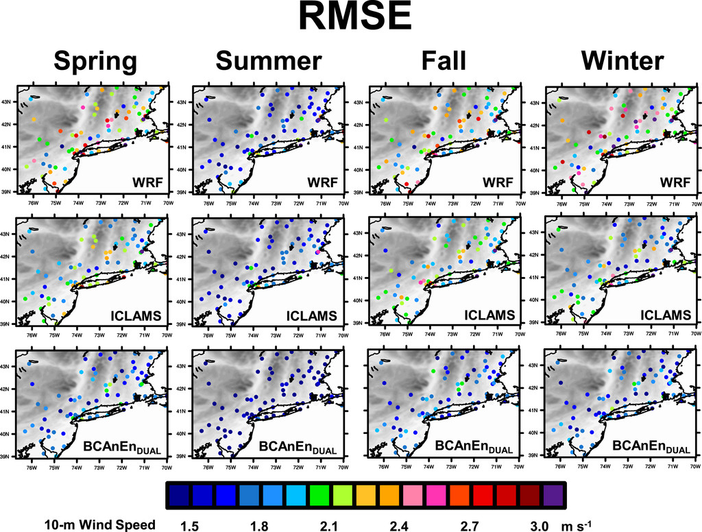 An Analog Technique to Improve Storm Wind Speed Prediction Using a ...