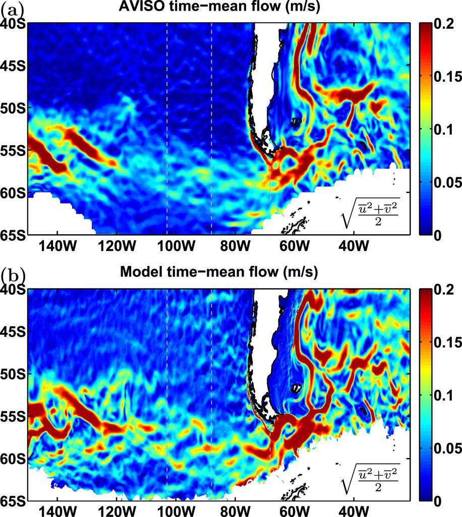 Direct Estimate of Lateral Eddy Diffusivity Upstream of Drake ...